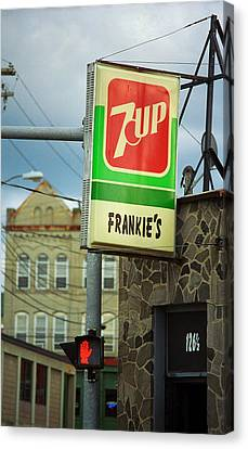 Binghamton New York - Frankie's Tavern Canvas Print