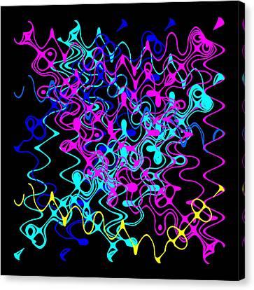 Bingo1-0-c Canvas Print by Ron Brown