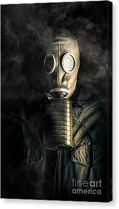 Biohazard Death And Destruction Canvas Print