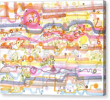 Biosensor Canvas Print