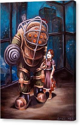 Bioshock Canvas Print by Emily Jones