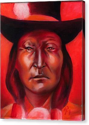 Bird Chief  Canvas Print by Robert Martinez