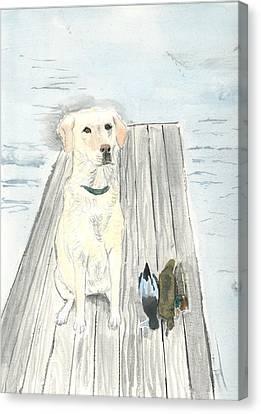 Bird Dog Canvas Print