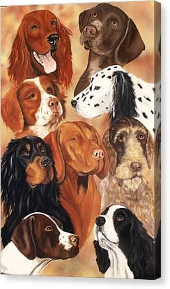 Bird Dogs Canvas Print