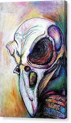 Bird Man Canvas Print by Kimberly Piro