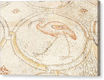 Bird Mosaic Canvas Print by Tal Bedrack