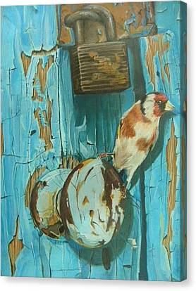 Bird Canvas Print by Mourad Abdalla