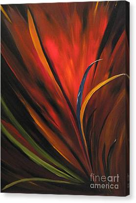 Bird Of Paradise Canvas Print by Carol Sweetwood