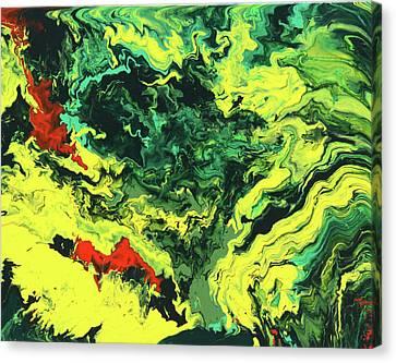 Bird Of Paradise Canvas Print by Ralph White