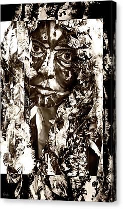Bird Woman Canvas Print by Kipleigh Brown