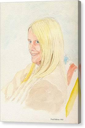 Birdie 1983 Canvas Print