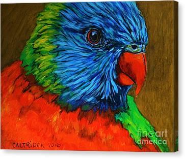 Birdie Birdie Canvas Print