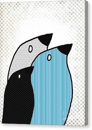 Birdies - 6901a Canvas Print