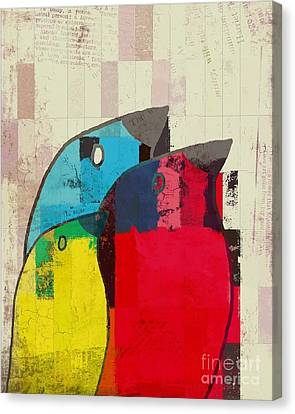 Dirty Canvas Print - Birdies - J039088097a by Variance Collections