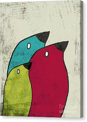 Birdies - V101s1t Canvas Print