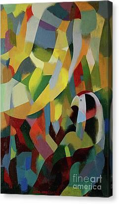 Birds Canvas Print by Jukka Nopsanen