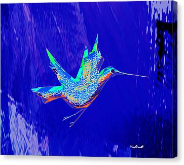 Bird Flight Canvas Print by Asok Mukhopadhyay