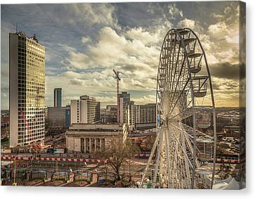 Birmingham Christmas Craft Fair Canvas Print by Chris Fletcher