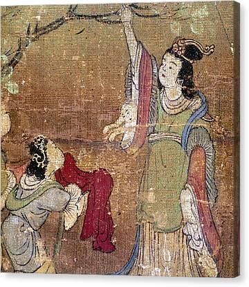 Birth Of Buddha Canvas Print by Granger
