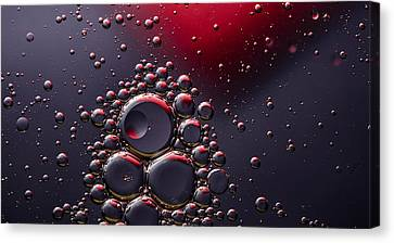 Birth Of The Red Mercury Sun Canvas Print by Bruce Pritchett