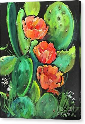 Birthday Blooms Canvas Print
