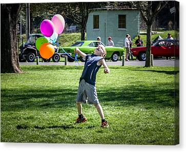 Birthday Boy Canvas Print by Brad Stinson