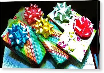 Birthday Presents Canvas Print