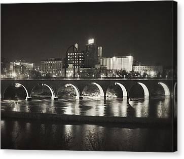 Pillsbury Canvas Print - Birthplace Of Minneapolis by Heidi Hermes