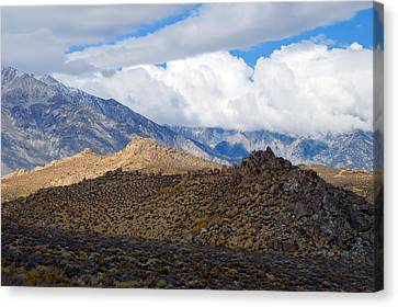 Canvas Print featuring the photograph Bishop California by Dung Ma