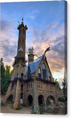 Bishops Castle Canvas Print