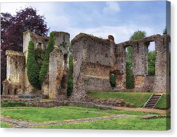 Bishop's Waltham Palace - England Canvas Print by Joana Kruse