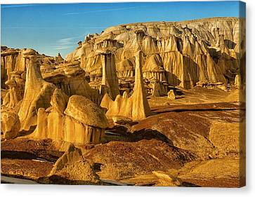 Bisti Badlands Fantasy Canvas Print