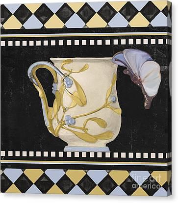 Art Nouveau Style Canvas Print - Bistro Nouveau I by Mindy Sommers