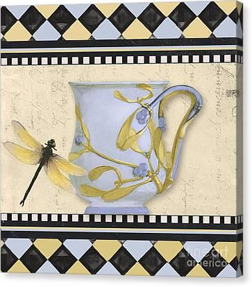 Art Nouveau Style Canvas Print - Bistro Nouveau II by Mindy Sommers