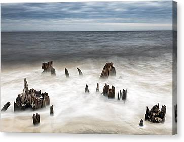 Bite Of The Ocean Canvas Print by Jon Glaser