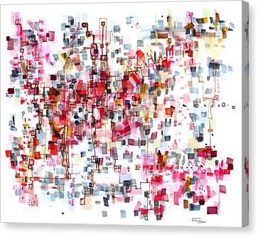 Bittersweet Meanderings Canvas Print by Regina Valluzzi