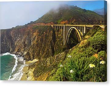 Bixby Bridge Big Sur Canvas Print