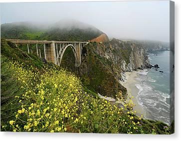 Bixby Bridge Canvas Print by Harry Spitz