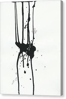 Black And White # 17 Canvas Print