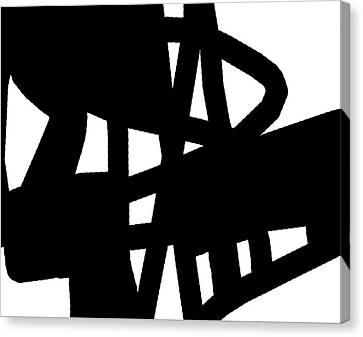 Black And White Canvas Print by International Artist Brent Litsey