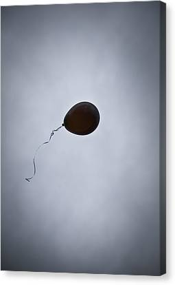 Black Balloon Canvas Print