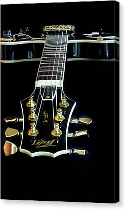 Canvas Print featuring the photograph Black Beauty by Bill Gallagher
