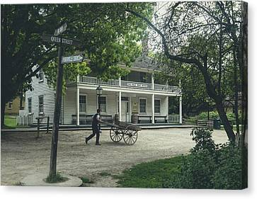 Pioneer Museum Canvas Print - Black Creek Pioneer Village - Canada by Joana Kruse