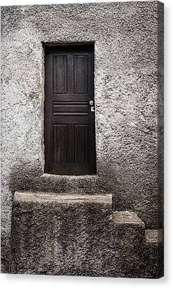 Black Door Canvas Print by Marco Oliveira