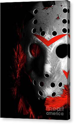 Hidden Face Canvas Print - Black Friday The 13th  by Jorgo Photography - Wall Art Gallery