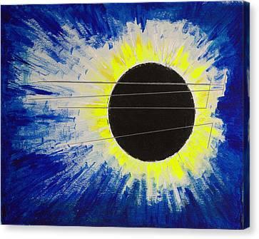 Black Hole Blues Canvas Print