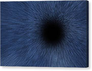 Black Hole Canvas Print by Pelo Blanco Photo