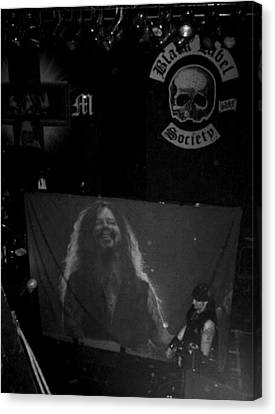 Black Label Dimebag Canvas Print