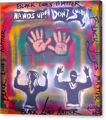 Black Lives Matter Canvas Print by Tony B Conscious
