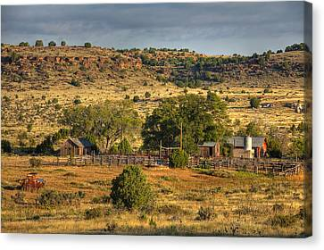 Black Mesa Ranch Canvas Print